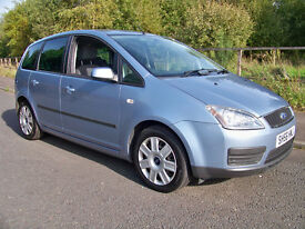 2006 (56) Ford Focus C Max Style. 58k miles with 12 months MOT & Full Service History