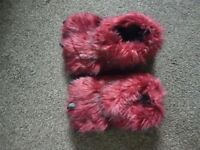 Monster slippers next size 6