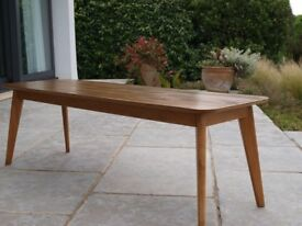 Scandinavian retro style, long coffee table from Heals