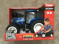 New Holland Toy Tractor