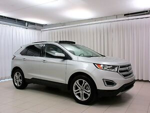 2016 Ford Edge TITANIUM AWD SUV w/ NAV, SUNROOF, BACKUP CAM AND