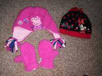 Hats and mittens age 1-3