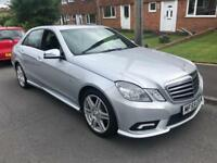 2009 MERCEDES E 350 SPORT AUTOMATIC DIESE **LOW MILEAGE** QUICK SALE NEEDED HPI CLEAR PX?