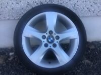 17INCH 5/120 BMW ALLOY WHEELS WITH TYRES FIT MOST MODELS