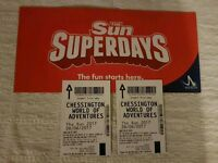 The Sun free entry tickets to Chessington world of adventures