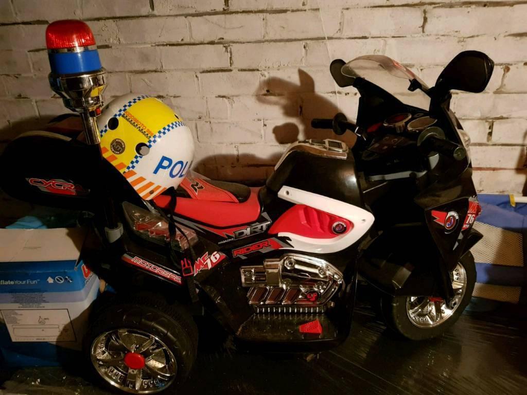 Police 12v battery bike