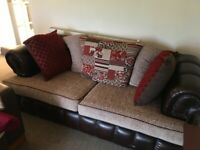 Chesterfield style sofa, very good condition.