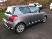 Suzuki Swift 1.3 - low miles, metallic grey, 12 months MOT