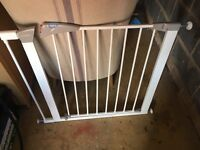 Lindham stair gate with extension