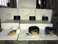 MENS VERSACE BELTS ***100% AUTHENTIC***