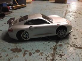 Nitro car ready to go