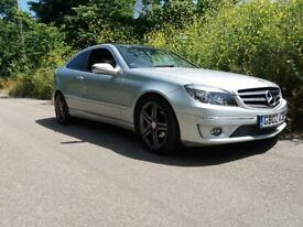 Mercedes 220 CDISilver Diesel 2 Door Sports Auto for sale