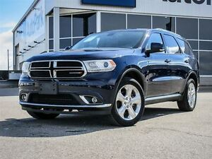 2015 Dodge Durango Limited| AWD| Heated Leather Interior| Rear V
