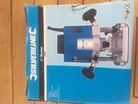"""Silver line 1/4 """" router - brand new, never used ( strategic spare )"""