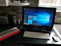 "283 Lenovo Ideacentre B310 22"" all in one pc i3 550 3.2ghz 4gb ram 500gb hdd W10"