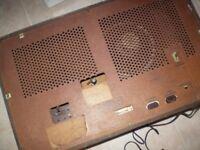 Vintage Philips 643A valve radio