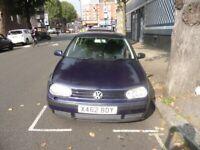 Volkswagen, GOLF, Hatchback, 2000, Other, 1595 (cc), 5 doors