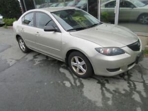 2006 Mazda 3 AUTO WITH ONLY 88K!