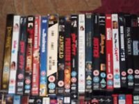 500 dvds job lot all cased with covers. Ideal boot sale or market trader