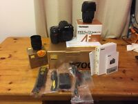 Nikon D700 NEW SHUTTER WITH 50MM 1.8 AND 28-75 2.8 LENS. ALL FULL BOXED AND EXCELLENT CONDITION.