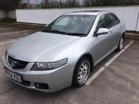2004 HONDA ACCORD 2.2 CDTI EXECUTIVE TURBO DIESEL, READY TO DRIVE AWAY, MOT 20TH JULY