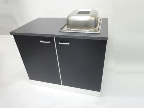 Keuken Witte Kleine : ≥ kleine keuken mat zwart front witte ombouw nieuw keuken