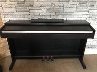 Yamaha Arius Digital Full Piano 88-key Hammer weighted keyboard
