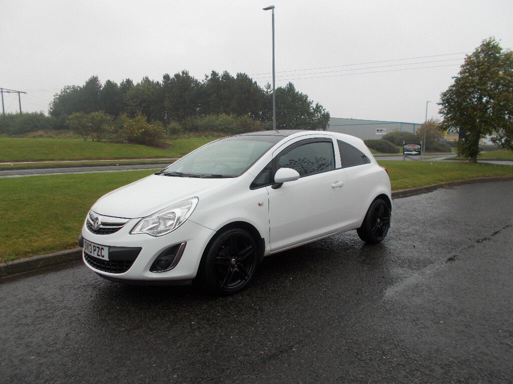 VAUXHALL CORSA 1.2 ENERGY LIMITED EDITION WHITE 2013 ONLY 40K MILES BARGAIN £3495 *LOOK* PX/DELIVERY