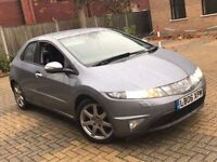 2006 HONDA CIVIC 1.8 I VTEC EX AUTOMATIC PETROL 5 DOOR HATCHBACK 5 SEAT GREAT DRIVE LONG MOT N AURIS