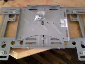 plasma tv wall bracket flat to wall fitting