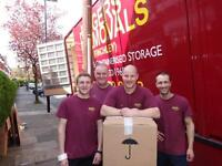 Removals Co. Requires 18t HGV drivers - approx £33-£35k per year, plus over time