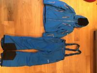 Ski suit for man size M nevica worn 4 days skiing