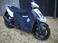 ailigty city 50cc 4t serviced,and ready to ride away, with good winter tires' ,an extras , 550