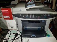 Used HP Laserjet 3030 + 1 new toner cartridge