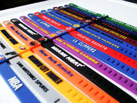 369 pcs NBA Teams Silicone Wristband Adjustable Clasp Bracelet wholesale jooblot ebay
