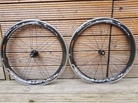Campagnolo Bullet Ultra 50mm Carbon Al clincher wheelset with Shimano / SRAM 11sp freehub