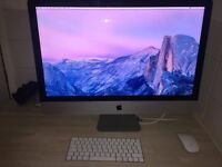 "Imac 27"" late 2015. LATEST MODEL. 5K Retina. 3.2ghz will boost to 3.7. 3 MONTHS OLD, GOT BOX!"