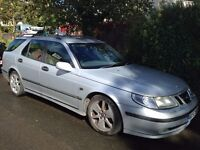 £250 or make us an offer! Saab 95 Estate, just failed MOT, Reconditioned Engine 2011