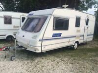 4 BERTH STERLING VOYAGER WITH MORTOR MOVER FULL AWNING WITH END BATHROOM AND WE CAN DELIVER
