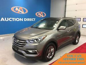 2017 Hyundai Santa Fe Sport 2.4 SE,AWD! LEATHER, BLUETOOTH, BACK