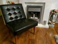 Luxurious designer leather chair