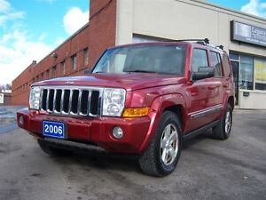2006 Jeep Commander Limited/4x4/7-Passanger/DVD/3 Sunroofs