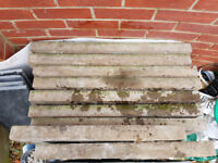Concrete patio paving slabs - ideal for shed base - £5 each