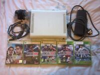 Xbox 360 old white 20gb non-HDMI console with PES games