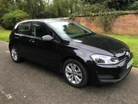 ***VOLKSWAGEN GOLF 1.6 TDI DSG BLUEMOTION AUTO+FULL VW SERV HIST+0 OWNERS+£20 A YEAR TAX***£7190! Px