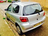 Toyota yaris 1.0 10 month mot 12 month tax very reliable car £350
