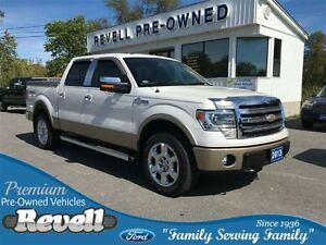 2013 Ford F-150 King Ranch 4WD...1-owner trade, Looks New, Only
