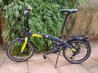 DAHON Mu P27 Folding Bike like Brompton or Tern