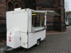 8ft x 6ft Mobile Catering Trailer with two Wok Burners