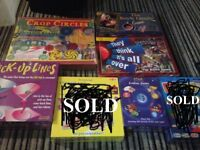 Games - All Brand New and Sealed